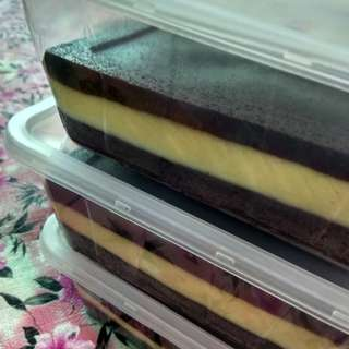 Kek Choco Cheese 3 Layer