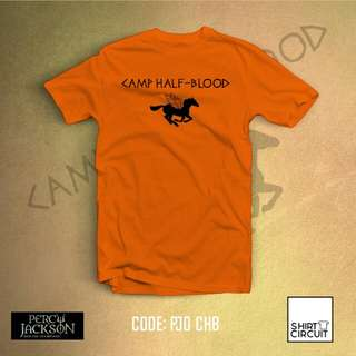 CAMP HALF BLOOD PERCY JACKSON TSHIRT