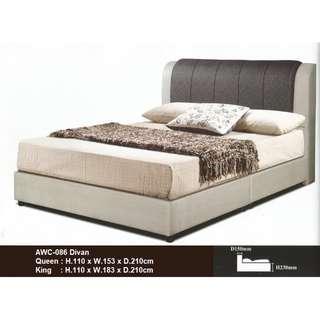 Katil Queen Divan Bed Frame * AWC-086Q