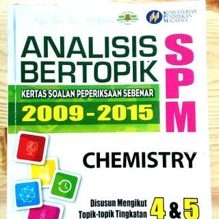 SPM :CHEMISTRY   (FULL SOLUTION WITH EXPLANATION)