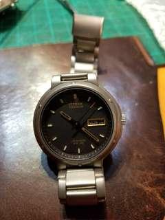 九十年代星辰鈦合金自動機械錶