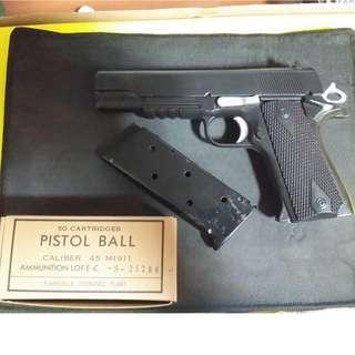M1911 toy pistol modded (please read description)