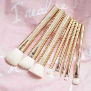 Make up brushes日本貴族金色化妝掃