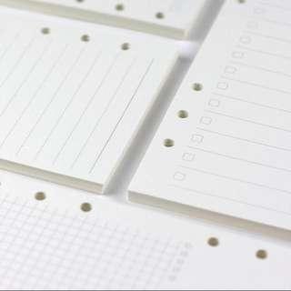 (PO) Planner/Ring-type planner file looseleaf
