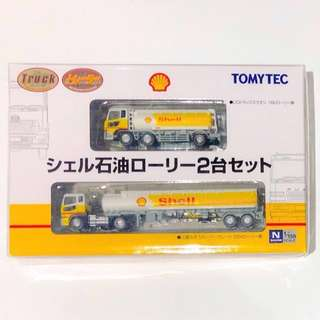 TOMYTEC (N) 1/150 The Truck & Trailer Collection Shell Lorry (2-Car Set) 全新未拆封 日本直送