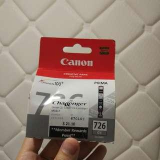 [NEW] Canon 726 Pixma Ink Cartridge GREY