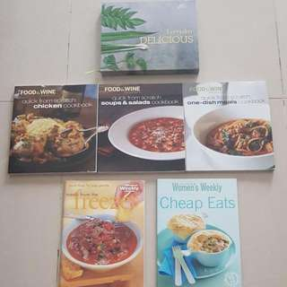 Moving Sale - Cookbooks $5