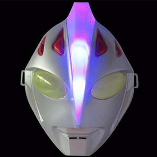 Superheroes Cosplay Anime Mask with LED -Ultraman