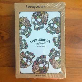 MYysterious Skull Metal Notebook