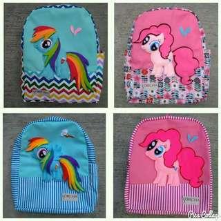 Super cute My Little Pony backpacks for kids