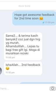Another feedback customer ❤️