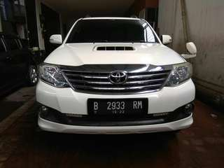 fortuner G VNT 2.5 at 2012