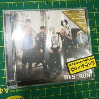 BTS RUN JAPANESE SINGLE ALBUM ONLY