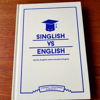 🌷50% Off NEW Copy🌷 Singlish VS English