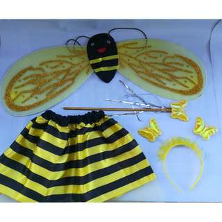 Bee Baby costume with wings