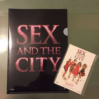 Sex and the City A4 File & Postcards
