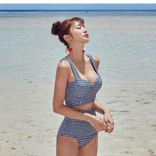 全新* 格仔韓款泳衣