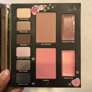 Too faced love and sweet love palletes