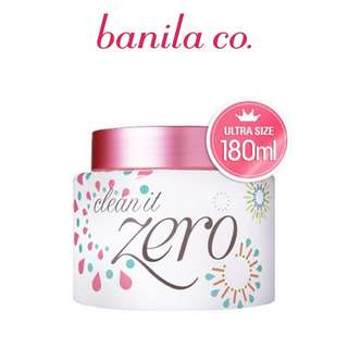 Banila Co Clean It Zero 180ml pink