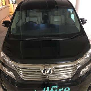 Vellfire / Honda stream for rent