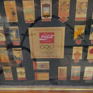 Coca Cola (Limited Edition) 22 Pin Historic Summer Game Series