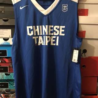 全新SET Nike Chinese Taipei men's  basketball 中華台北籃球隊