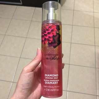Bath & Body Works Diamond Shimmer Mist