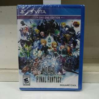 PS Vita World of Final Fantasy