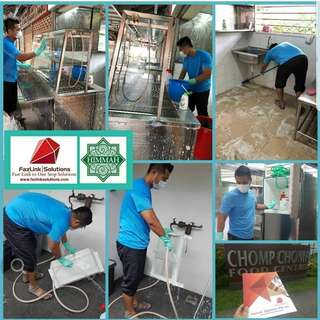 Completed Job @ Chomp Chomo Food Centre