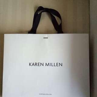 Karen Millen Paper Bag (large)