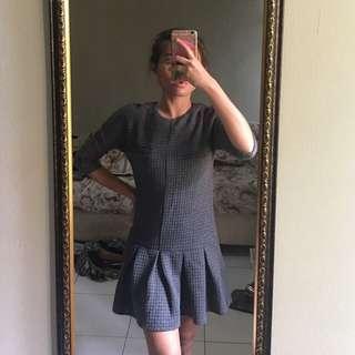 LOVE BONITO Gray Dress