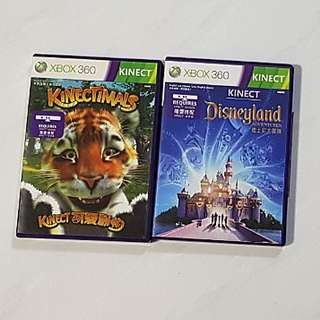 Xbox 360 Kinect Game (Kinectimals / Disneyland)