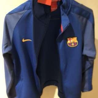 Fc Nike Barcelona jacket Junior Size XL