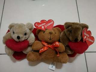 Valentine's Soft Toy 3in1