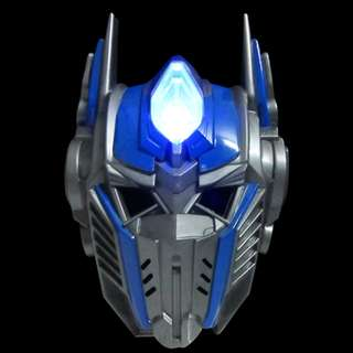 Superheroes Cosplay Anime Mask with LED -Optimus Prime