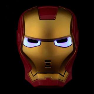 Superheroes Cosplay Anime Mask with LED -Ironman