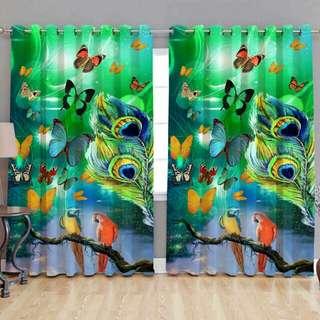 Nice digital print curtains