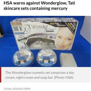 WARNING: Mercury found in Tati Skincare & Wonderglow