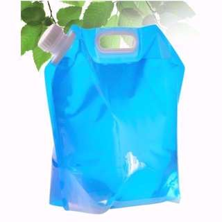 Foldable Portable Water Bag 10 Litre Outdoor Holiday Party Car