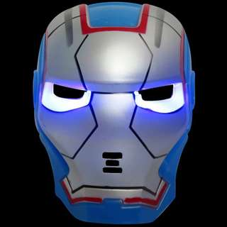 Superheroes Cosplay Anime Mask with LED -Ironman MK30