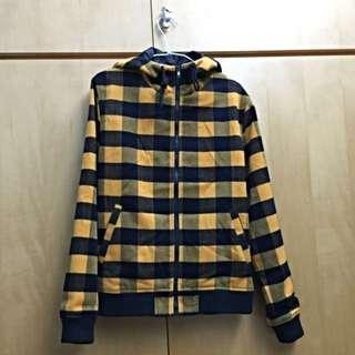 🚚 NAVY 格紋外套