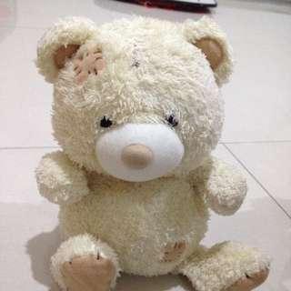 boneka beruang putih me to you