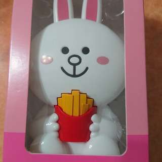 Line Friend 兔兔風扇仔 x McDonald's