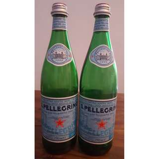 Empty San Pellegrino Glass Bottles - 750ml