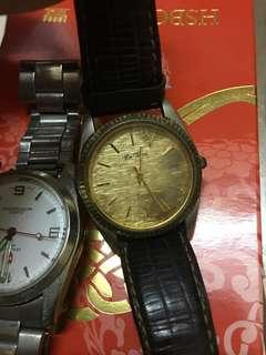 5隻舊手錶