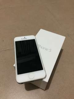 Iphone 5 64gb silver SECOND