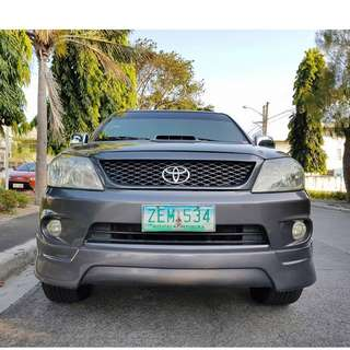 Toyota Fortuner 2006 G Gas Automatic
