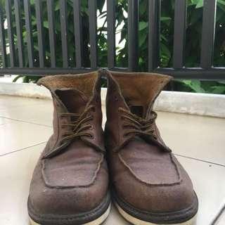 Boots Coklat Custom Handmade