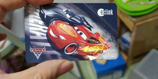 Disney Car Ezlink card