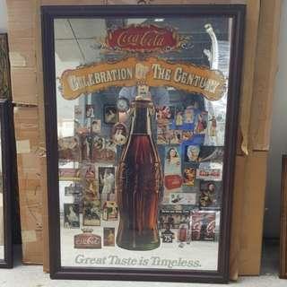 Coca Cola Limited Edition Mirror Art Pieces